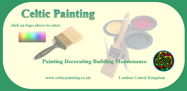 Celtic Painting, UK professional painters and decorators offering quality internal and external painting, decorating and refurbishment services for domestic or commercial clients for the London area.